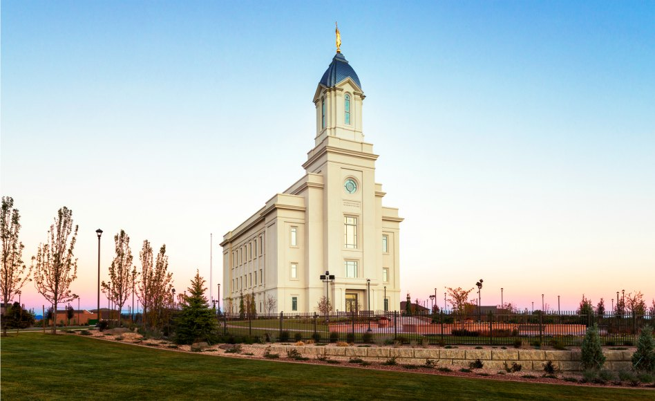 Conoce el templo Nº 17 de Utah, el templo de Cedar City