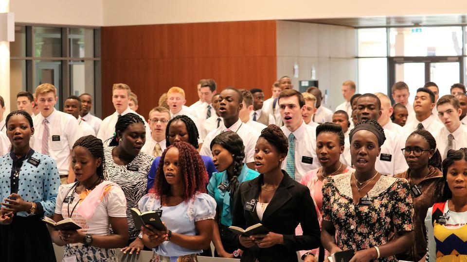 centro de capacitación misional en Ghana