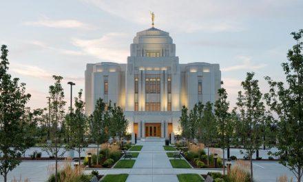 El Hermoso Templo Mormón De Meridian Idaho Fue Dedicado