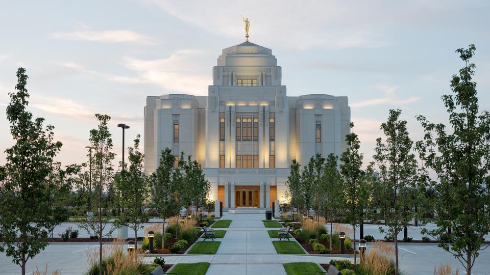 templo meridiano de Idaho