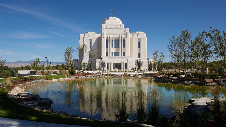 Se Inicia la Jornada de Puertas Abiertas en el Templo Meridiano de Idaho