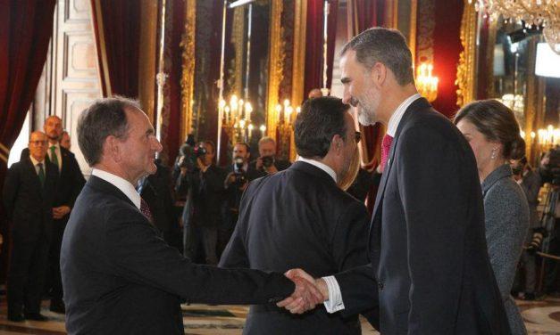 El Rey Felipe VI Recibe a Mormones En El Palacio Real De Madrid