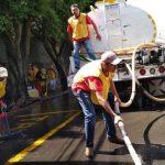 mormones después de los terremotos en México