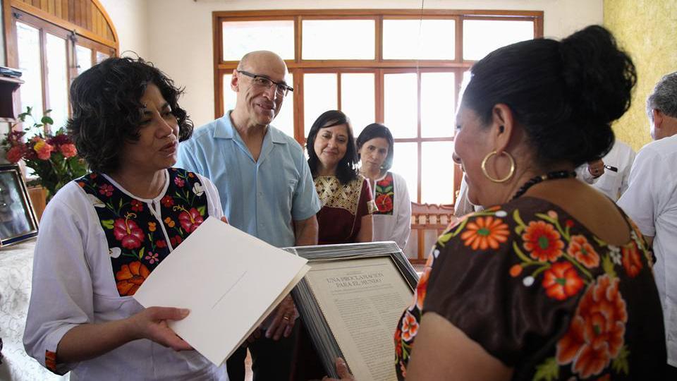 sobrevivientes del terremoto en México