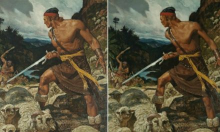 7 Famosas pinturas del Libro de Mormón, pero sin esteroides…