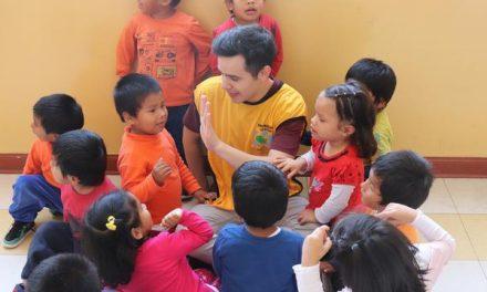 David Archuleta y su tierna experiencia en un orfanato peruano