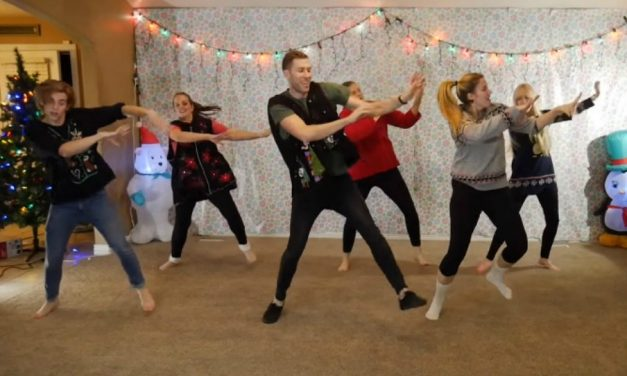 Familia mormona se vuelve viral con su video de baile navideño