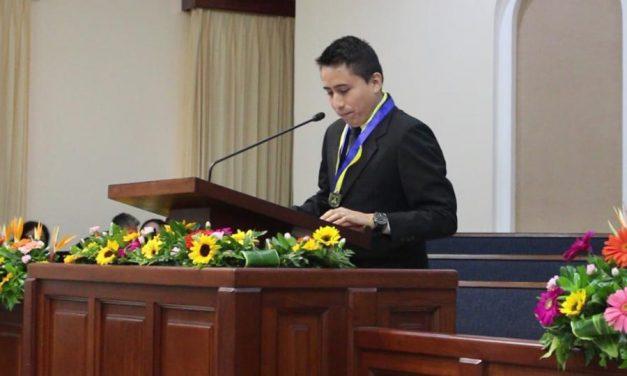 Joven mormón recibe importante reconocimiento por parte del Gobierno de Nicaragua