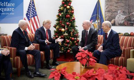 La reciente enseñanza de los líderes mormones al presidente Trump