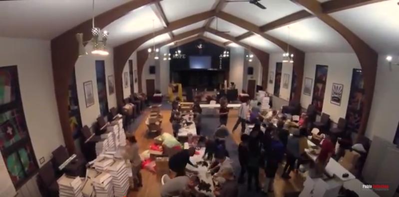 Mormones y evangélicos unidos para hacer algo hermoso en Navidad