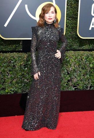 Vestidos modestos de los Golden Globes 2018