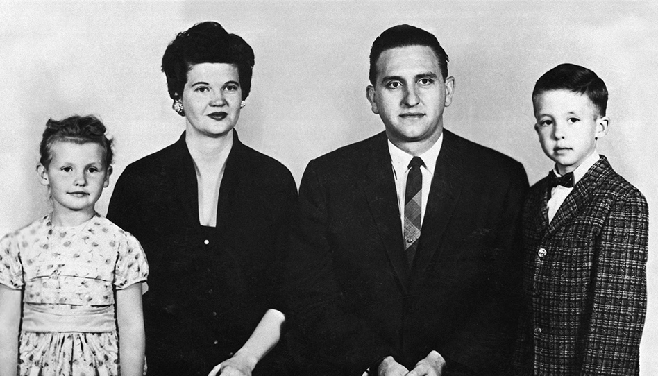 Familia y amigos de Thomas S. Monson