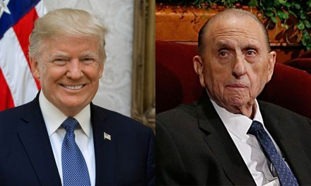 Donald Trump expresa sus condolencias por la muerte del Profeta Mormón