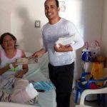 un mormón en un Hospital de Colombia