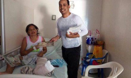 El consuelo que ofreció un mormón en un Hospital de Colombia
