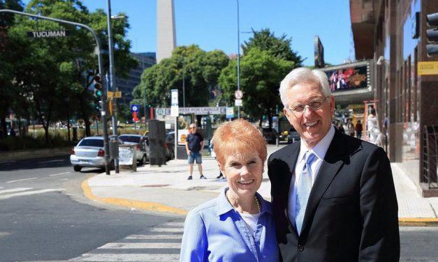 Élder Christofferson y su emotiva visita en Argentina y Chile