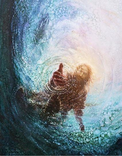 Jesús entendiendo la mano