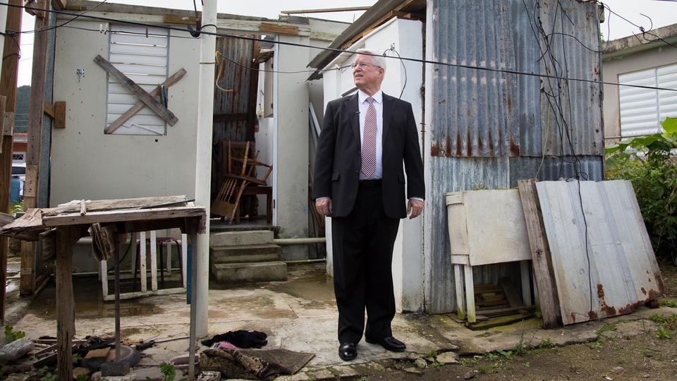 El Obispado Presidente visita Puerto Rico para seguir ayudando a los damnificados