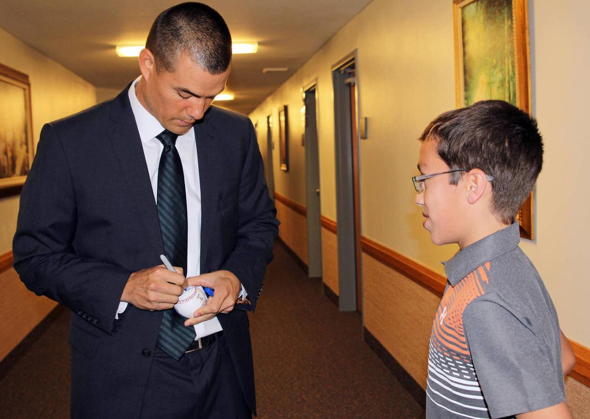 Beisbolista mormón