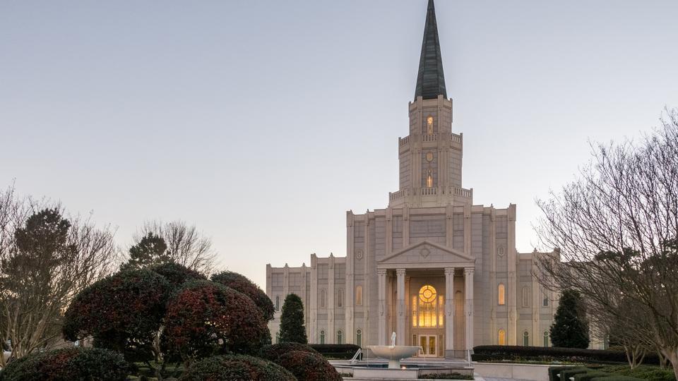 Después del huracán, el Templo de Houston Texas será rededicado