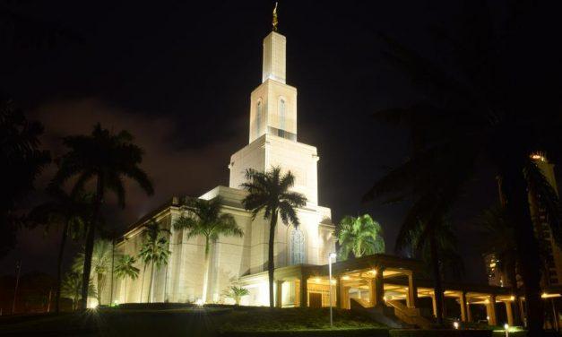 Fotografía del templo de Santo Domingo como parte de una importante exhibición