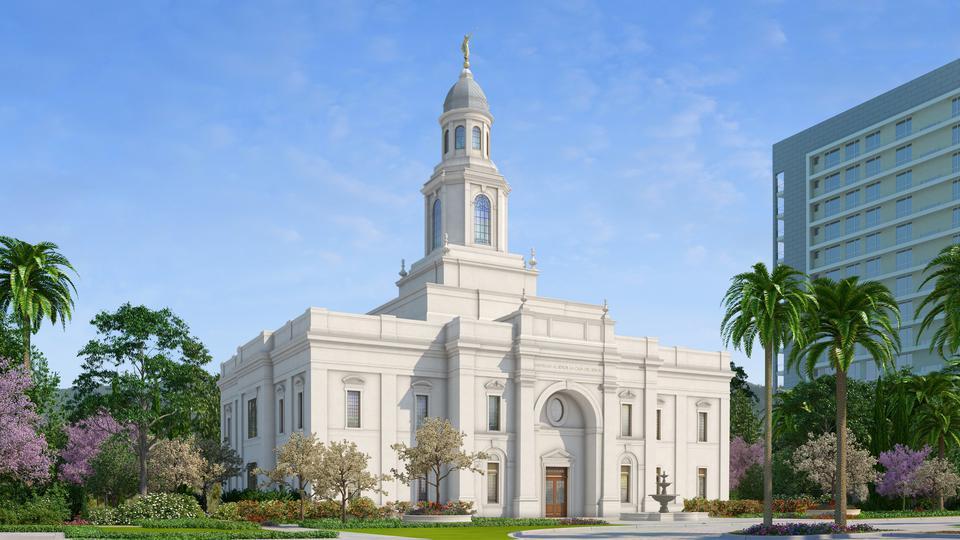 Templo mormón de Concepción Chile