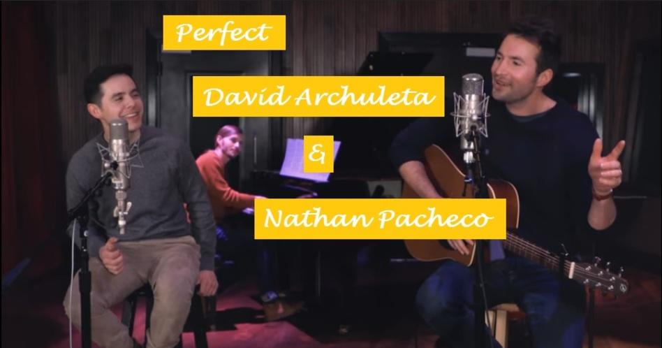 """Mira a David Archuleta y Nathan Pacheco en el cover de """"Perfect"""" que te derretirá el corazón"""