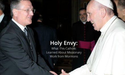 Lo que un escritor Católico le preguntará al Papa Francisco sobre la obra misional Mormona