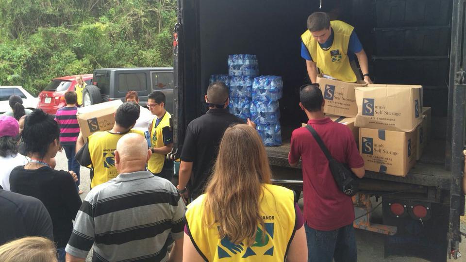 mormones ayudan en Puerto Rico
