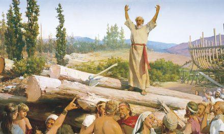 """Lección 6: """"Noé… preparó el arca en que su casa se salvase"""""""