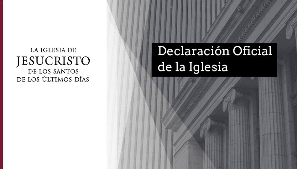 Declaración de la Iglesia sobre supuesta agresión sexual por un ex presidente de misión