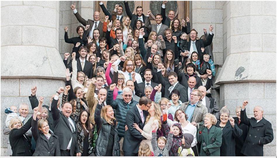 Una novia Santo de los Últimos Días planificó su boda en cinco días