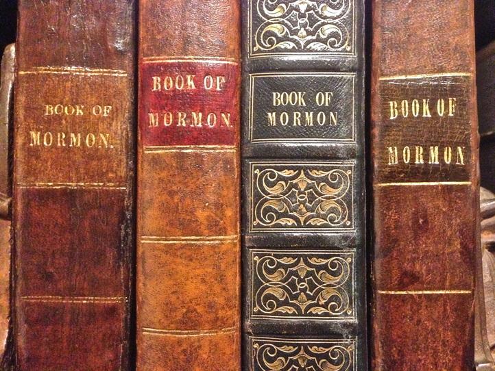 primera edición del libro de mormón