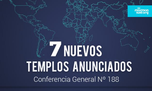 Se anuncia la edificación de 7 nuevos Templos mormones