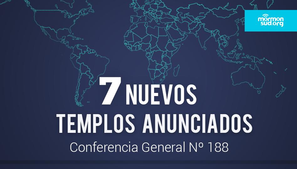 7 nuevos templos mormones