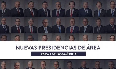 Nuevas Presidencias de Área en Latinoamérica