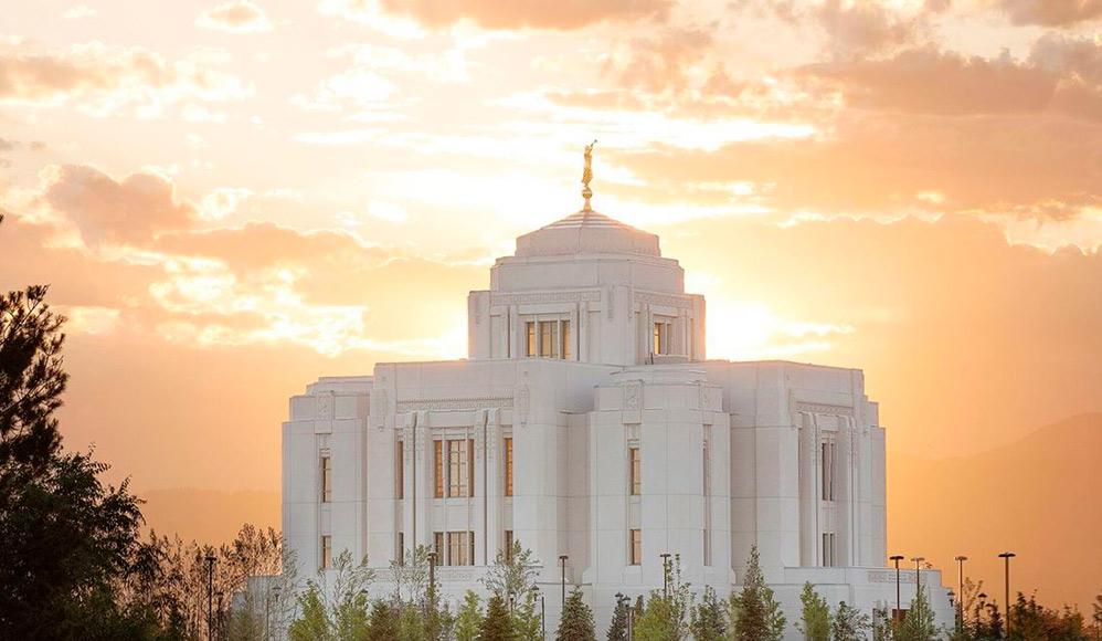 Templo de Meridian Idaho