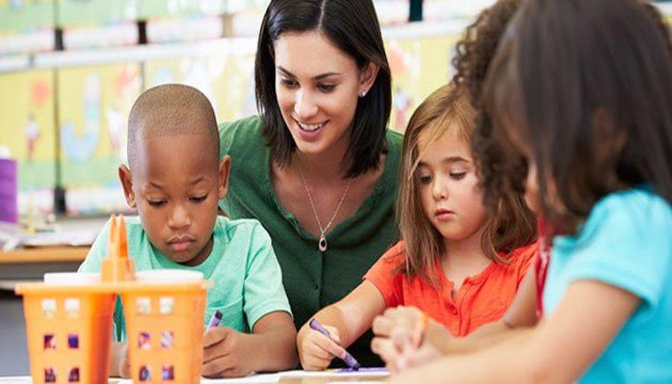 enseñar a los niños
