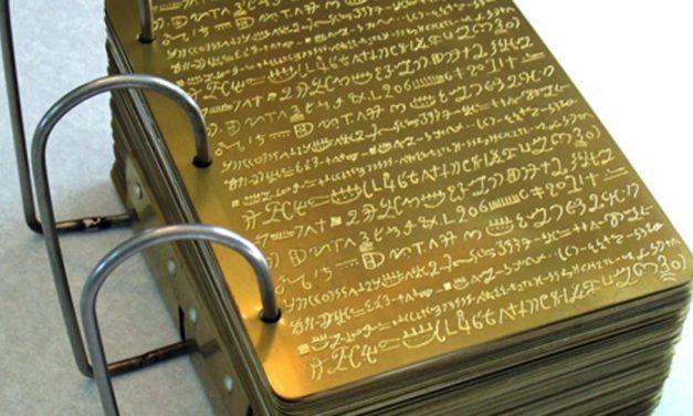 """Malentendido: Las """"planchas de oro"""" de José Smith eran de oro puro"""