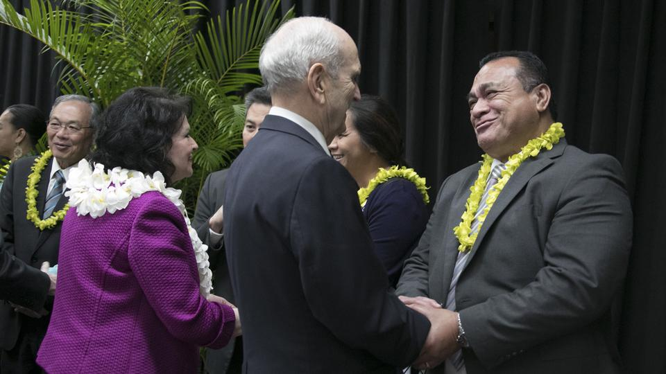 presidente Nelson en Hawai