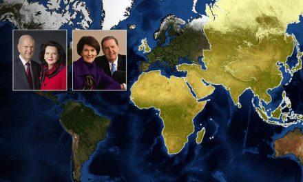 El presidente y la hermana Nelson comienzan la gira mundial por el ministerio