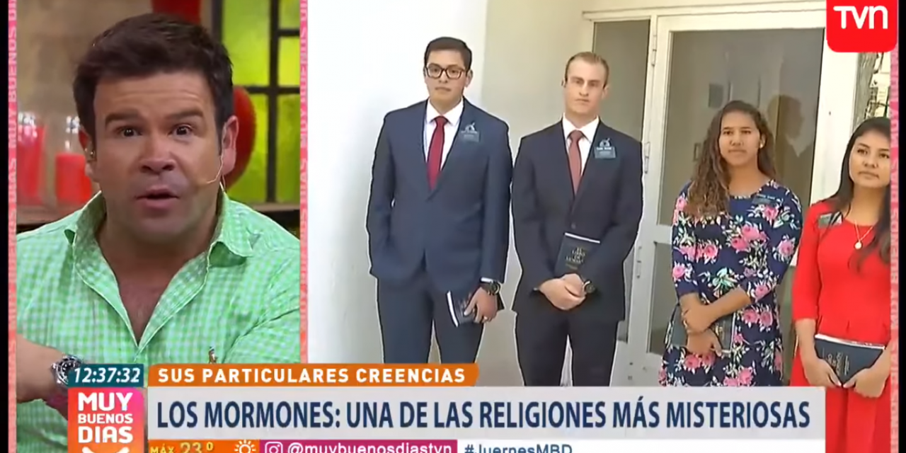 Programa de televisión chileno demuestra quiénes son los mormones