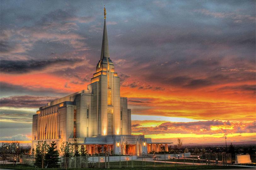 Templo de Rexburg Idaho