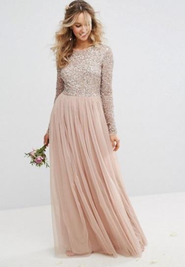 Vestidos largos para promocion