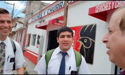 En respuesta al vídeo del pastor que confrontó a misioneros mormones