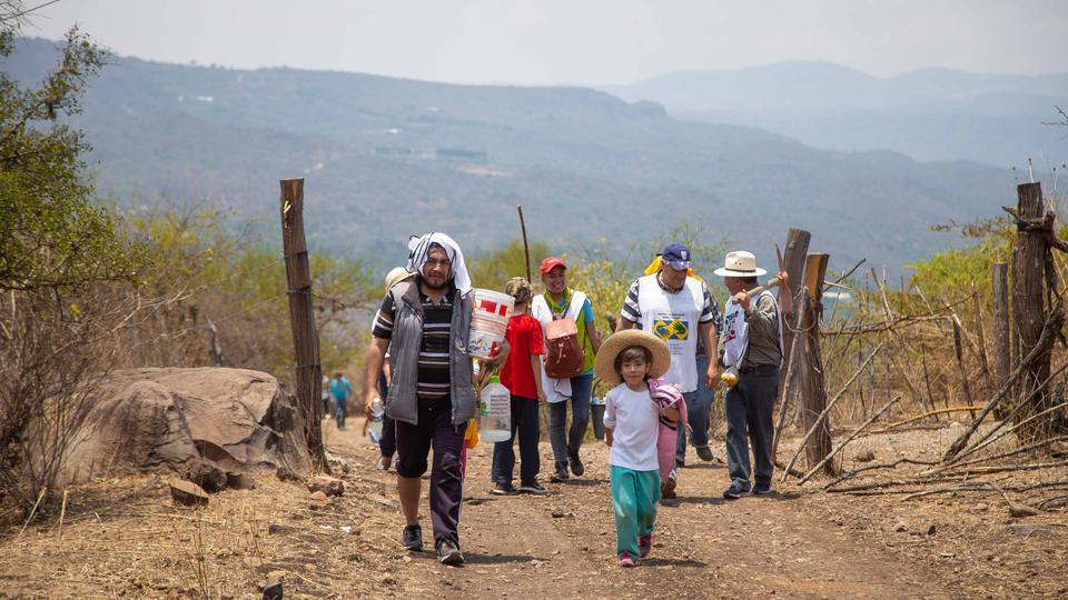 mormones por muchas familias en México
