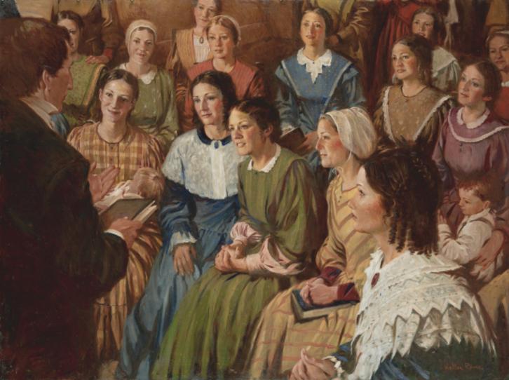 mujeres mormonas