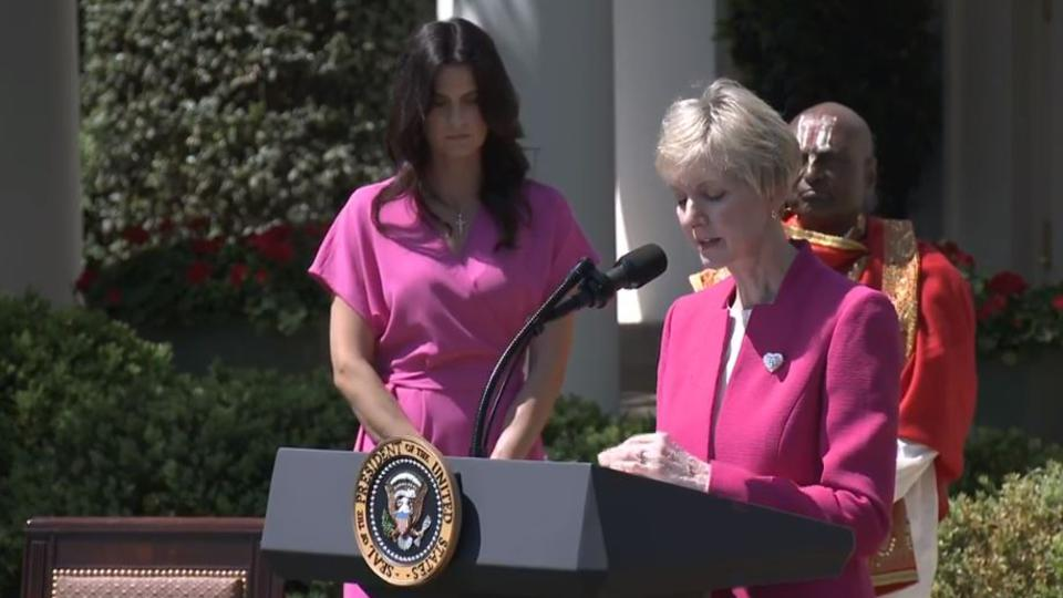 oración en Casa Blanca