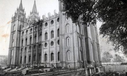 La base del Templo de Salt Lake ¿compuesta de granito o arena?