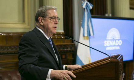 El impactante discurso de élder Holland  en el senado de Argentina
